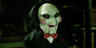 the Jigsaw puppet