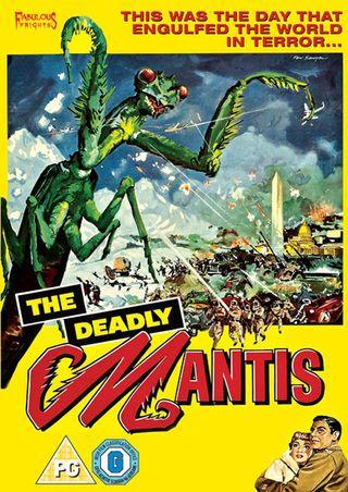 Deadly Mantis cover