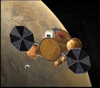 Mars Sample-Return: Rendezvous in Space