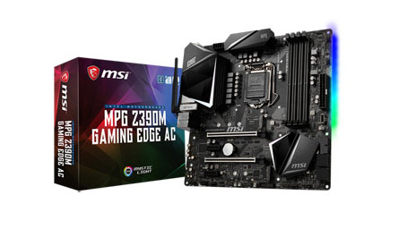 Best motherboards: MSI MPG Z390M