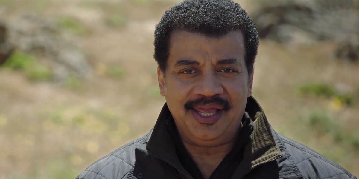 Neil deGrasse Tyson in Cosmos Possible Worlds 2020