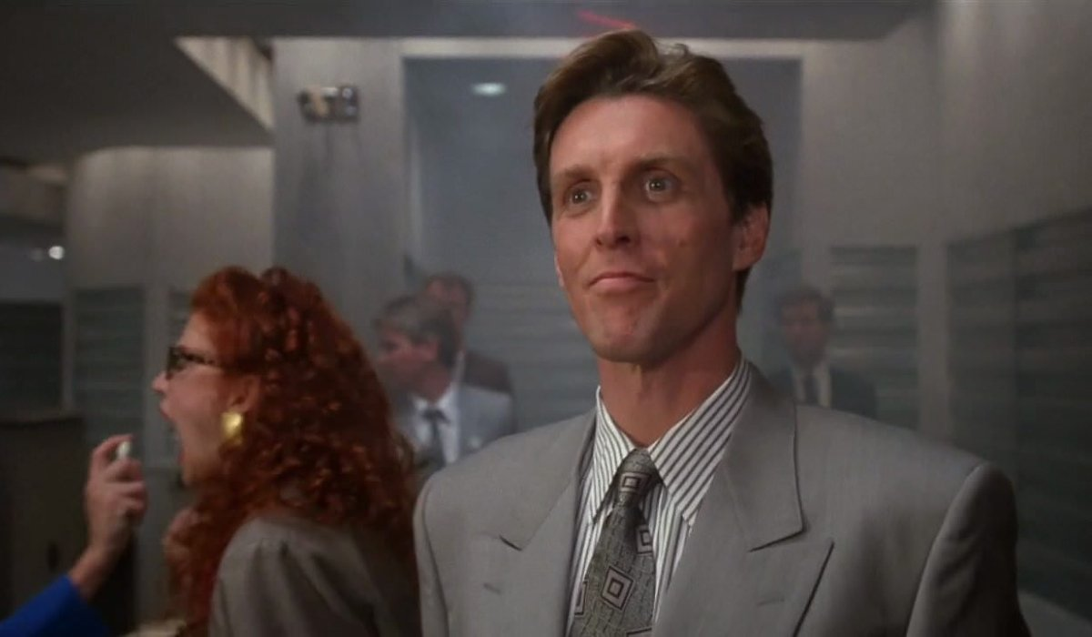 Gremlins 2: The New Batch John Glover arrives in the office