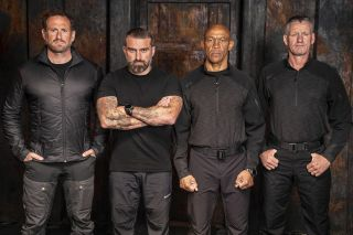 SAS: Who Dares Wins Season 6 instructors —(from left) Jason Fox, Ant Middleton, Melvyn Downes and Mark Billingham.