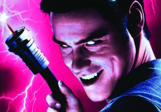 Jim Carrey is plugged in