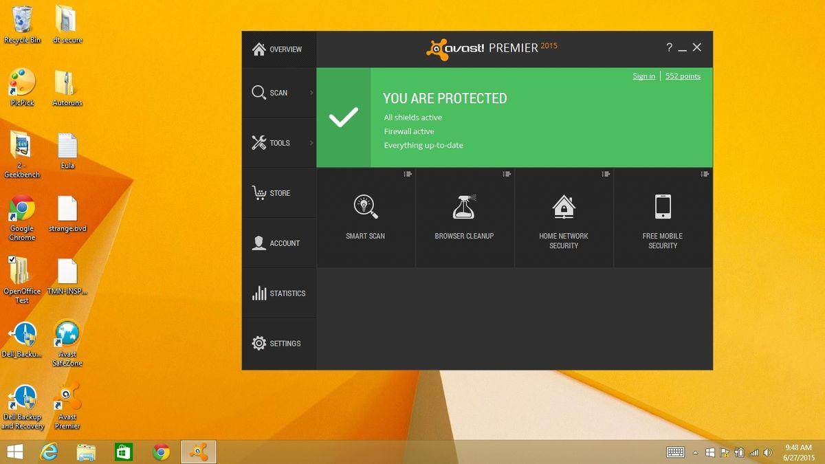 Avast Premier 2015 Review - PC Antivirus Software | Tom's Guide