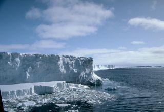 Calving on the Filchner Ice Shelf