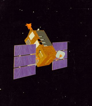 Rossi X-ray Timing Explorer Satellite