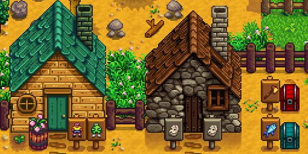 a screen shot of Stardew Valley