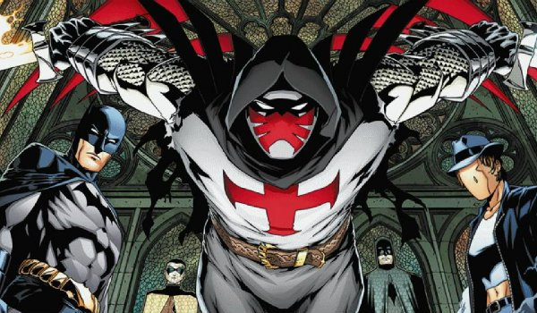 & Gotham: First Look At Azrael Is Creepy Yet Familiar