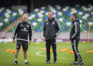 Northern Ireland Training and Press Conference – Windsor Park