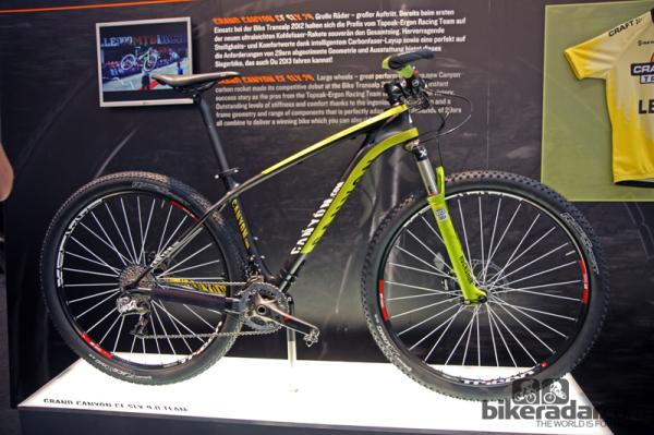 Eurobike 2012 tech: Canyon unveils 2013 road and mountain