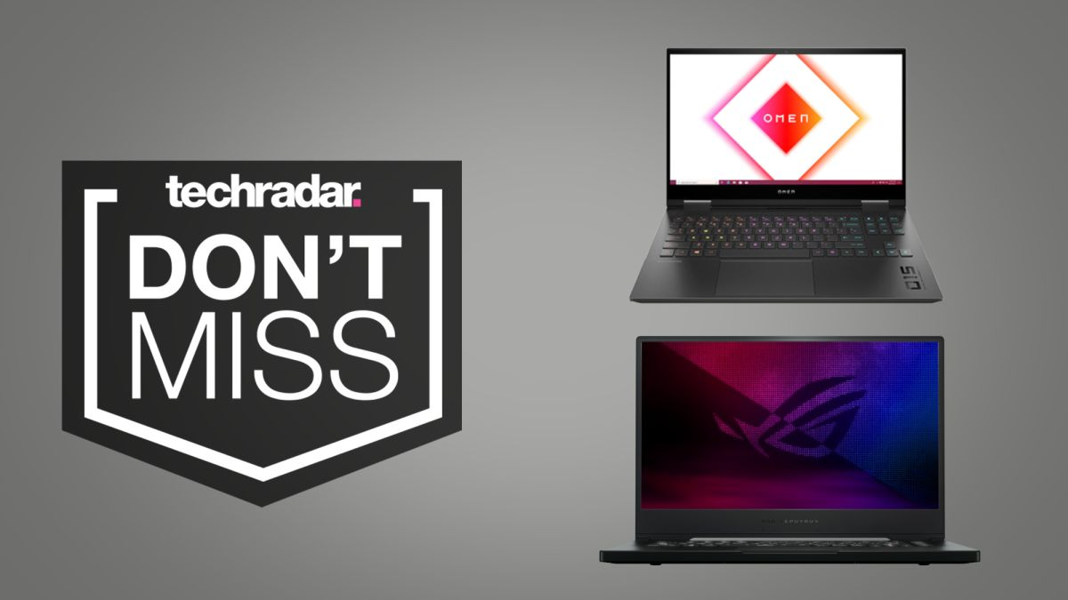 This weekend's gaming laptop deals feature RTX cards for bargain prices - TechRadar