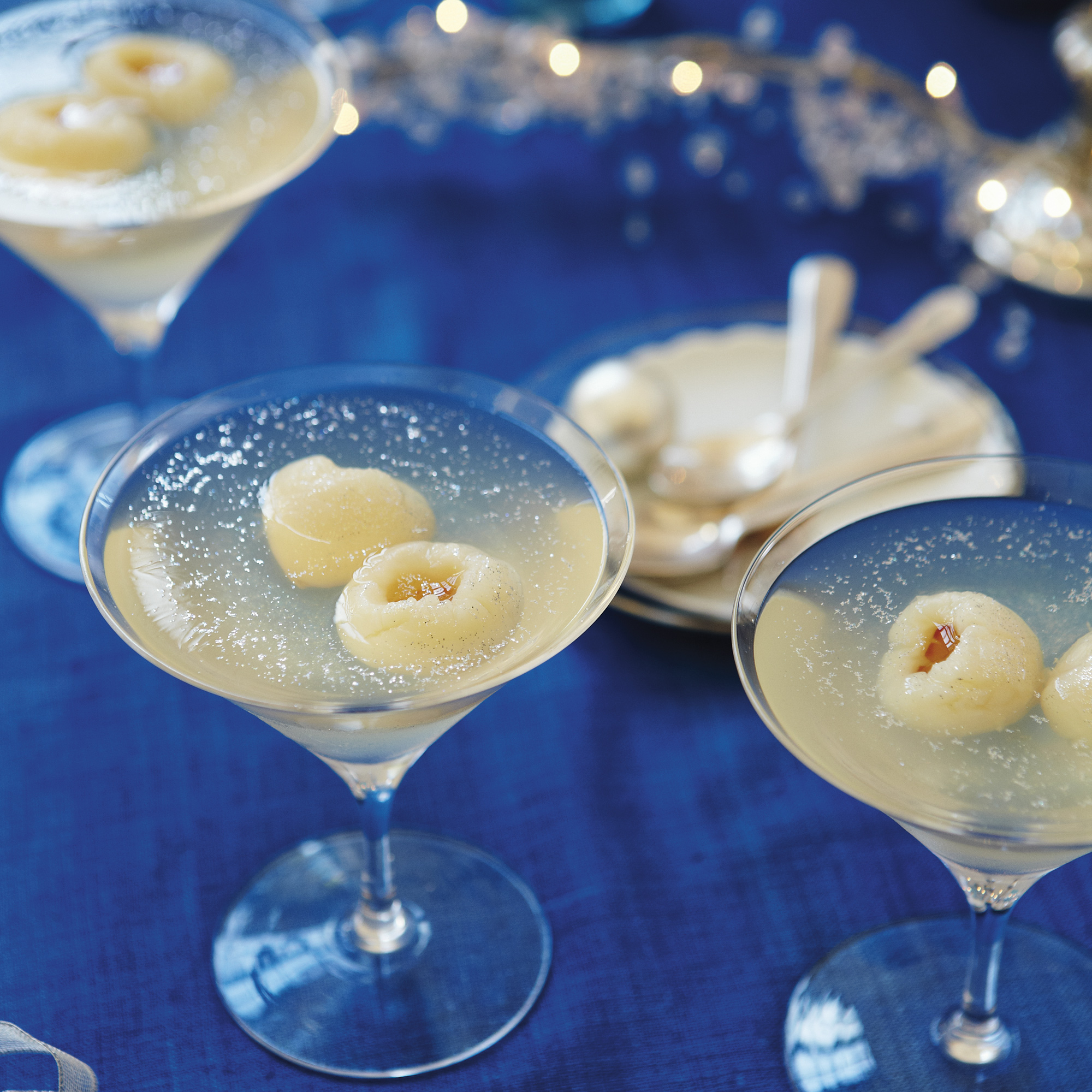 Prosecco and lychee jellies forumfinder Choice Image