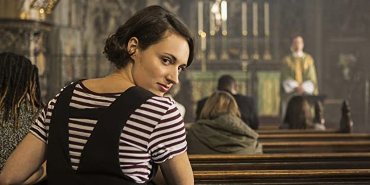 Phoebe Waller-Bridge and Andrew Scott in Fleabag