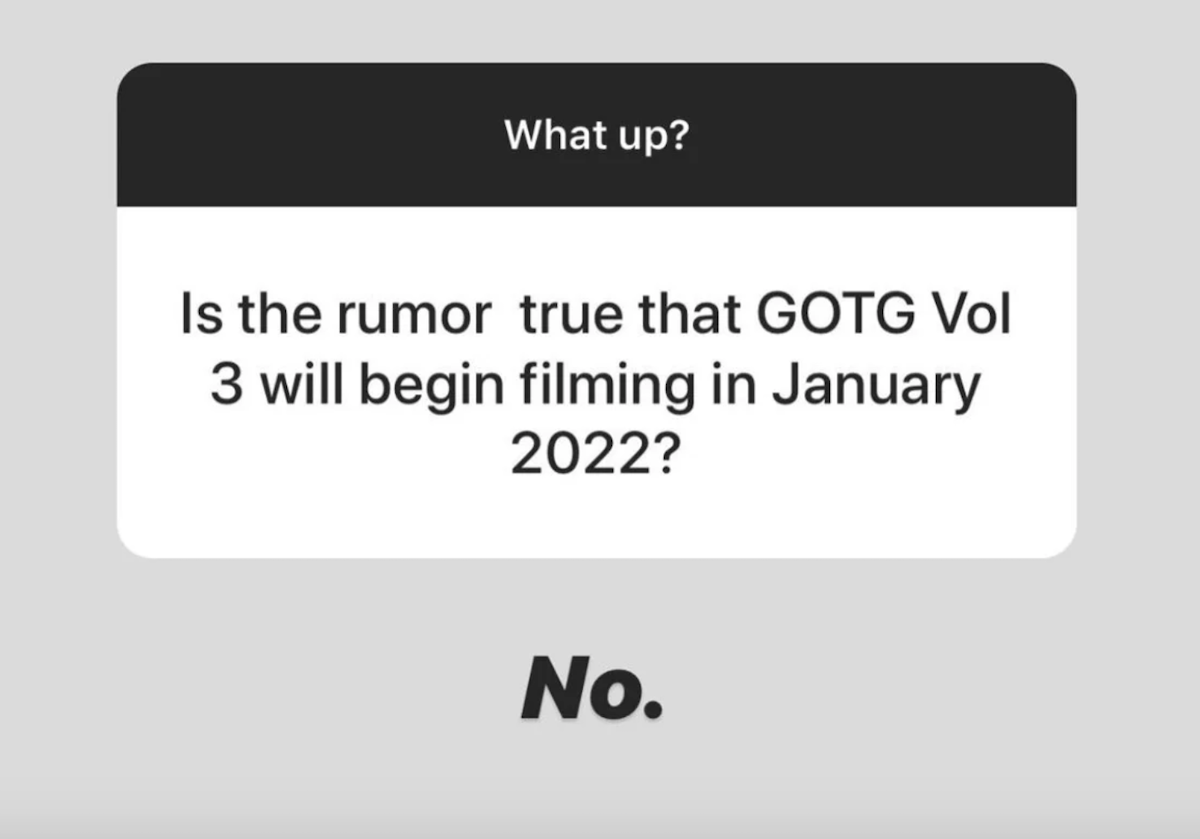 James Gunn answer