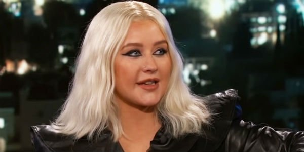Christina Aguilera Jimmy Kimmel Live!