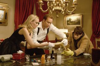 Diane Kruger, Nicolas Cage and Justin Bartha hunt for clues