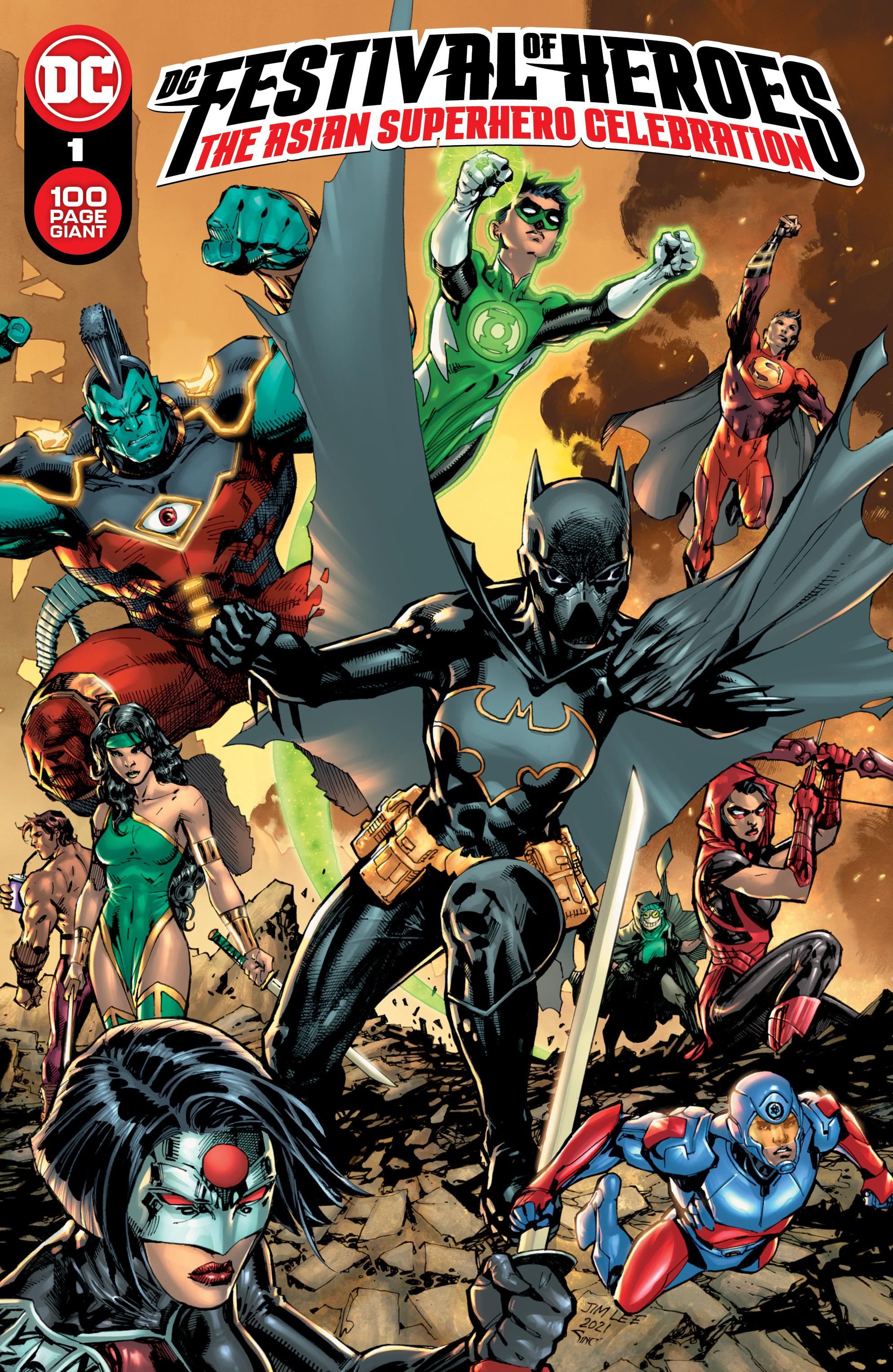 DC Festival of Heroes: una celebración de superhéroes asiáticos