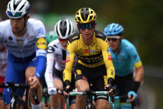 Jumbo-Visma's Sepp Kuss at the 2020 Vuelta a España