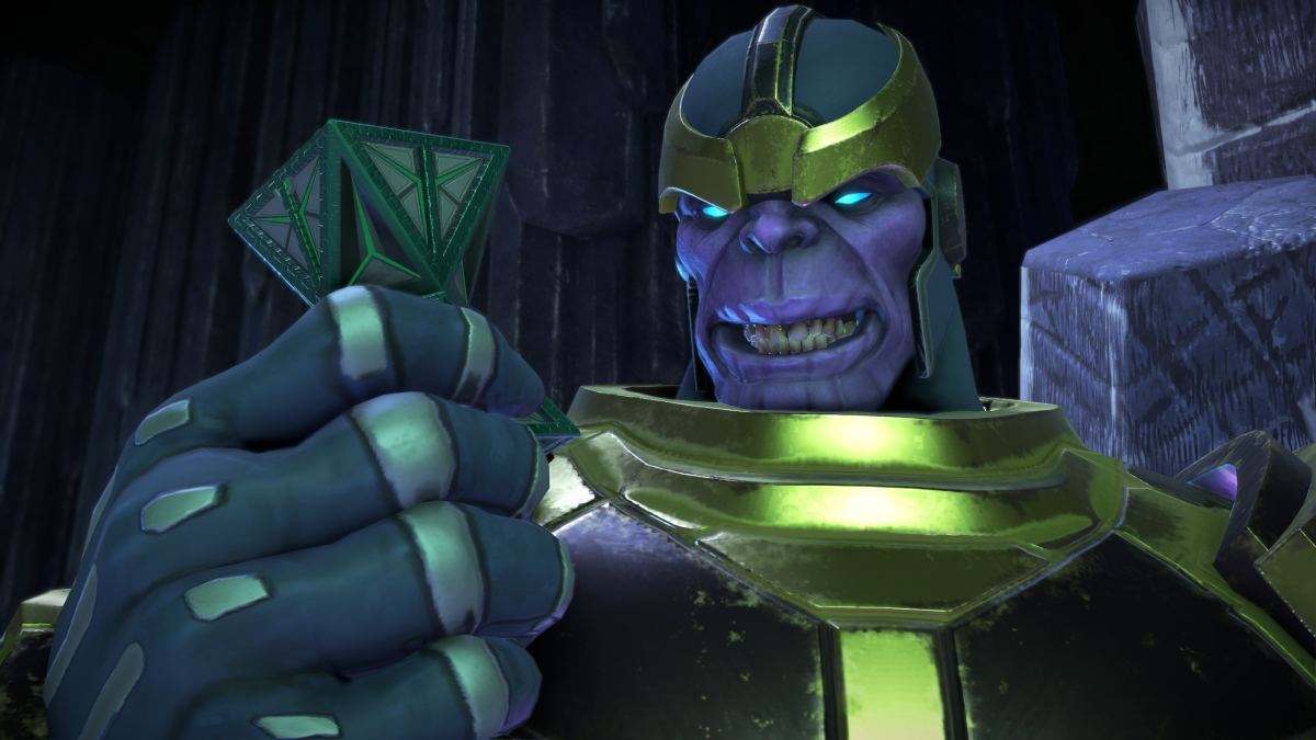 Great moments in PC gaming: Killing Thanos in Telltale's Guardians of the Galaxy