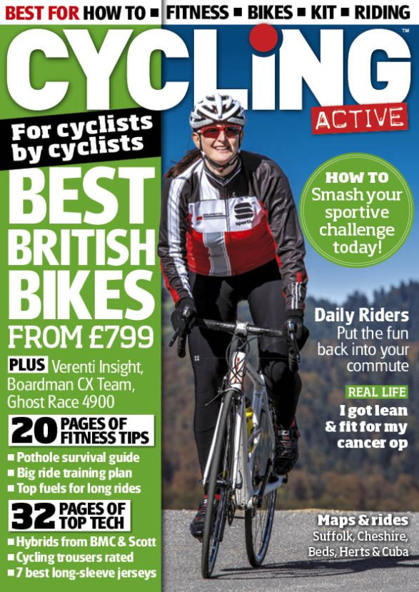 Cycling Active May 2014 issue