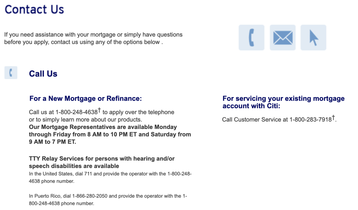 CitiMortgage Review - Pros, Cons and Verdict | Top Ten Reviews