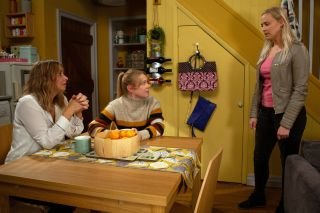 Tracy feels guilty in Emmerdale