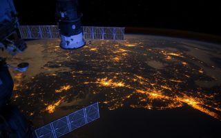 Eastern Seaboard at Night