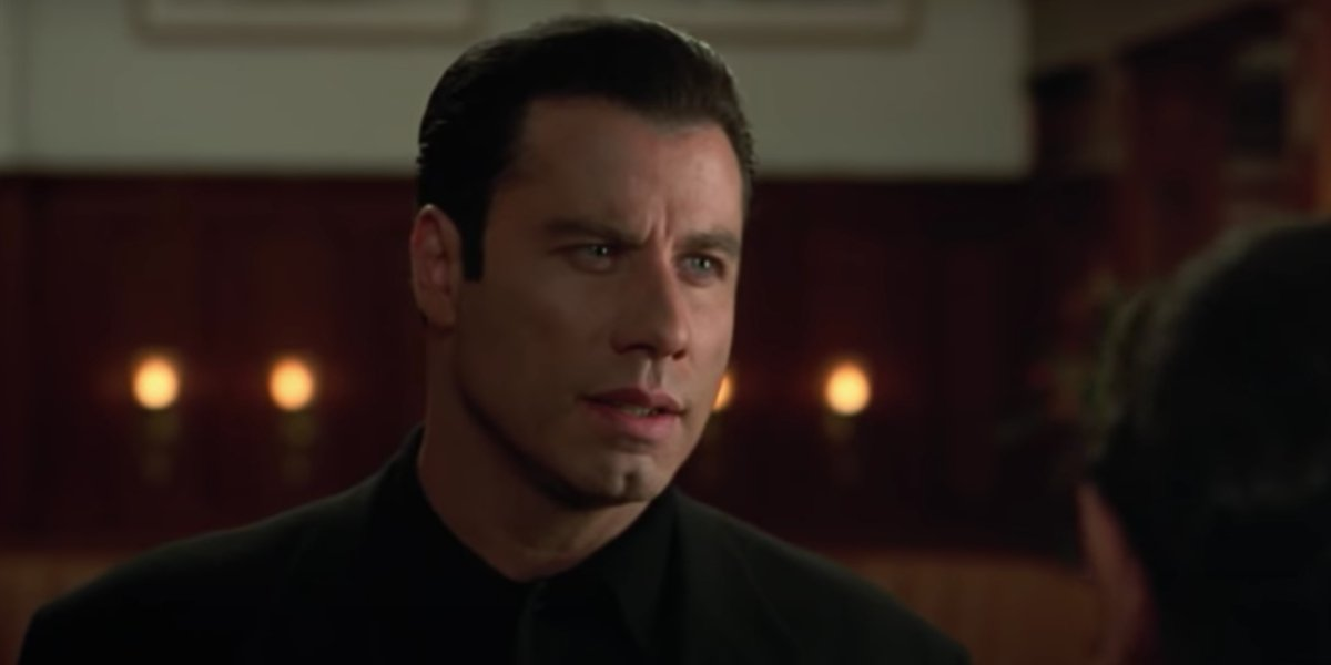 John Travolta in Get Shorty