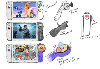 Genius Nintendo Switch controller concept needs to become a reality