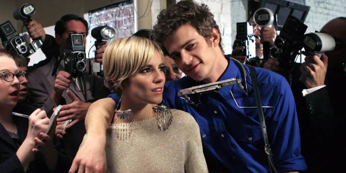 Sienna Miller and Hayden Christensen in Factory Girl