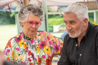 Judges Prue Leith and Paul Hollywood.