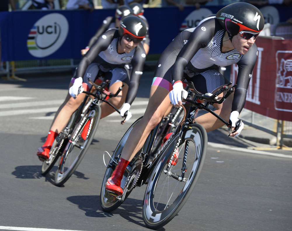 3e13615df Specialized-Lululemon win women s team time trial World Championship - Cycling  Weekly