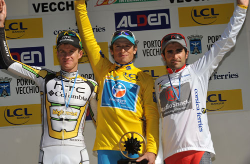Pierrick Fedrigo wins overall, Criterium International 2010, stage 3 ITT