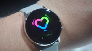 Stress monitoring on the Samsung Galaxy Watch Active