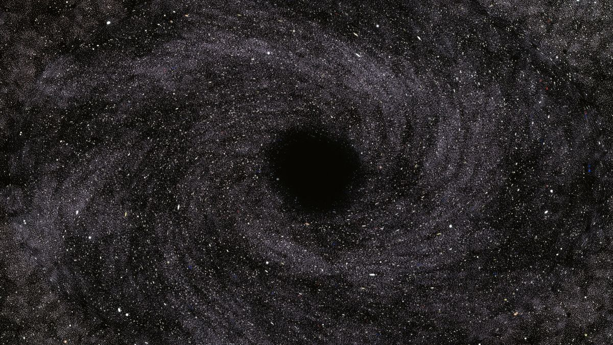 Lab-grown black hole behaves just like Stephen Hawking said it would