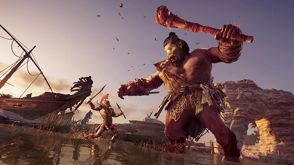 Assassin S Creed Odyssey Gets A New Mythical Boss Monster Pc Gamer