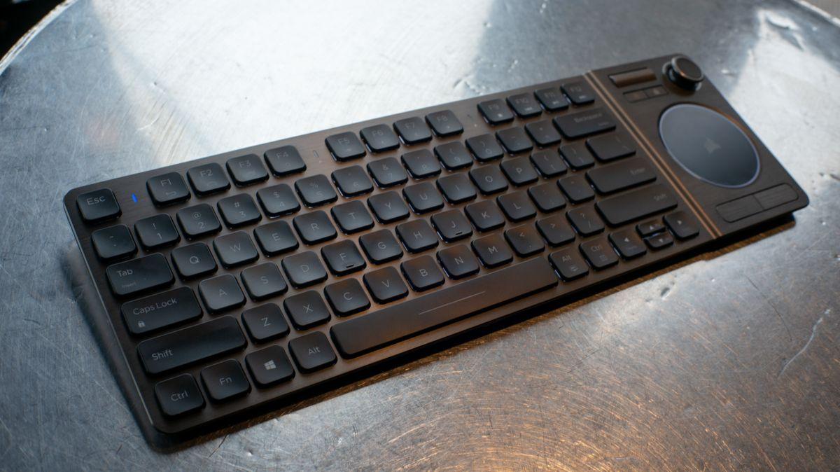 corsair k83 wireless entertainment keyboard review techradar. Black Bedroom Furniture Sets. Home Design Ideas