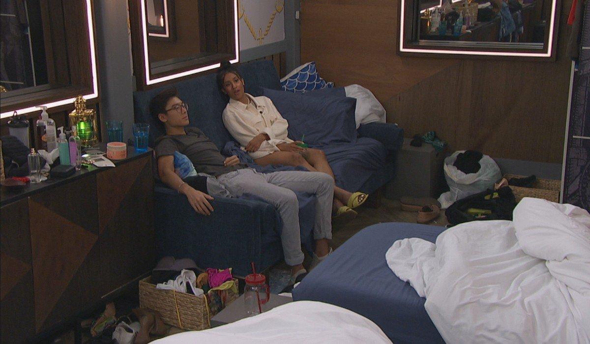 Derek X and Hannah Big Brother CBS