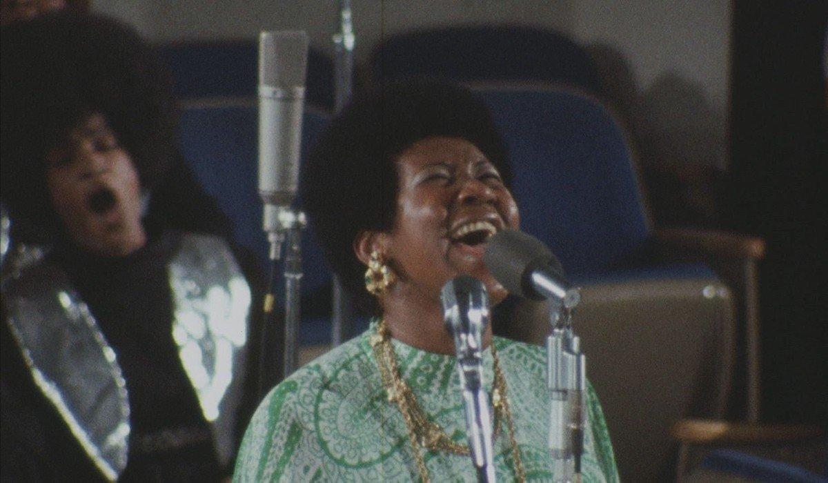 Aretha Franklin in Amazing Grace