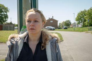 Samantha Morton as Kirsty in improvised drama I Am Kirsty