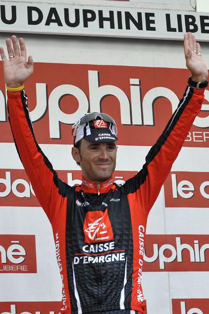 Dauphine 2008 stage 1 Alejandro Valverde