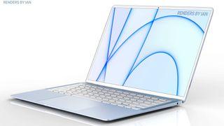 Blue MacBook Air 2021 coming soon?