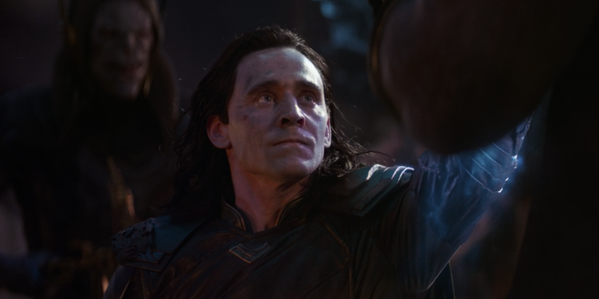 Loki before being killed by Thanos