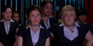Anna Kendrick, Rebel Wilson, Brittany Snow, Hana Mae Lee, and Alexis Knapp in Pitch Perfect