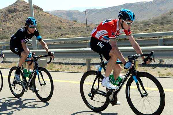 Bradley Wiggins and Chris Froome, Tour of Oman 2013