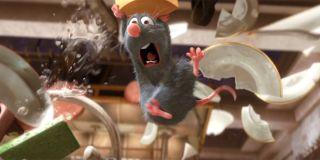 Remy in Ratatouille.