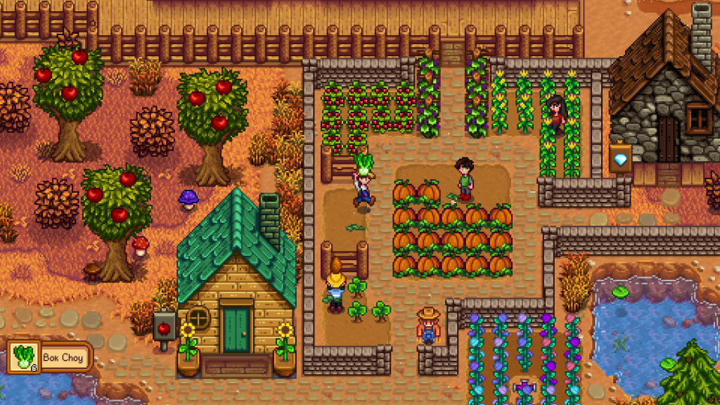 These sweet Stardew Valley mods animate the game's static objects