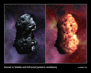 Deep Impact: Telescopes Size Up Comet Target