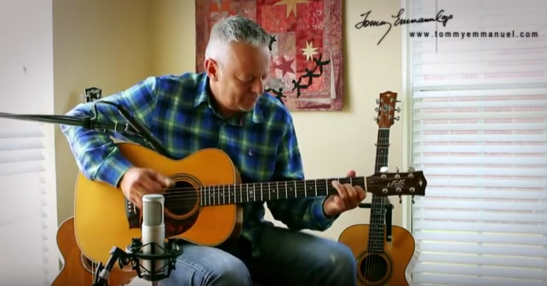 Tommy Emmanuel Picks on The Beatles: day tripper madonna medley